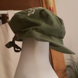 PINK Victorias Secret Army Green Cap